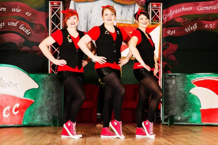 Gruppenbild Showgirls